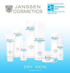 Do you have problems with Dry Skin? Check out the Janssen Cosmetics Dry Skin Line!