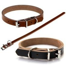 Adjustable leather dog collar $20.00 Leather Dog Collars, Service Dogs, Belt, Accessories, Products, Belts, Beauty Products