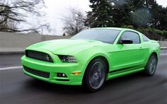 The 2013 Ford Mustang