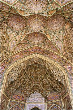 The Nasīr al-Mulk Mosque (Masjed-e Naseer ol Molk) is a traditional mosque in Shiraz, Iran, and was established in 1888.