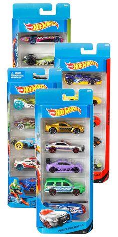 Mattel - Hot Wheels 5er Geschenkset, Sammler, Autos, 18060 in Spielzeug…