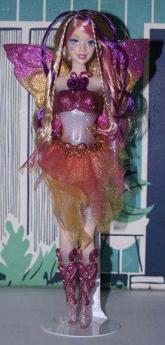 Dressed Barbie Doll -- 2005 Crystal Fairytopia Light Up Barbie