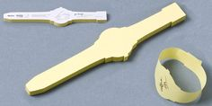 Wrist Watch Post It Notes - this would save me writing on my hand...