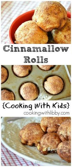Cinnamallow Rolls Cooking With Kids - Recipes Cooking With Toddlers, Kids Cooking Recipes, Cooking Classes For Kids, Baking With Kids, Kids Meals, Cooking Tips, Baking Recipes, Easy Meals, Cooking Games