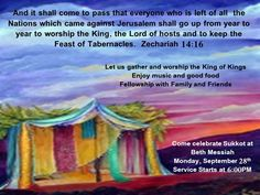 feast of tabernacles jesus - Google Search Feasts Of The Lord, Feast Of Tabernacles, Lord Of Hosts, Worship, Spirituality, Good Things, Let It Be, Google Search, Day