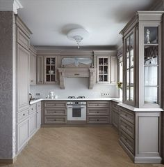 The Advantages of Kitchen Set Design Ideas The kitchen is a location of your home where you should have tons of cookware and utensils out there. Kitchen Cabinet Styles, Grey Kitchen Cabinets, Rustic Kitchen Decor, Country Kitchen, Kitchen Ideas, Interior Design Kitchen, Home Design, Set Design, Design Ideas