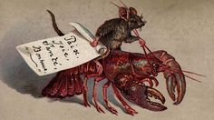 Murderous frogs, children boiled in teapots and a mouse riding a lobster are generally not images seen today on Christmas cards but in Victorian times it was all par for the course.