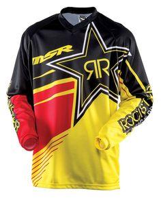 2015 MSR Rockstar Dirt Bike Off-Road ATV Quad Motocross Racing Jerseys