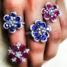 @ldezen.   So excited showing off new additions to our Violetta Collection with some color! Come see us this week at The Hong Kong International Jewellery Show!