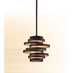 Vertigo Bronze One Light Mini Pendant Corbett Stem Mini Pendant Lighting Ceiling Lighting