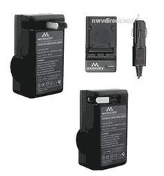Merkury Innovations AC/DC Sony NP-FM/QM SeriesTravel Rapid Charger