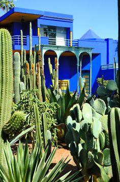 Jardin Majorelle - Marrakech, Maroc