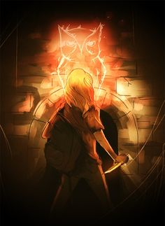 Annabeth in the mark of athena
