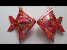 CNY TUTORIAL NO. 28 - Small Red Packet (Hongbao) Fish - YouTube