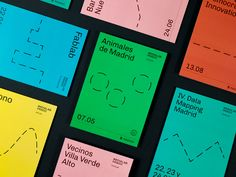 Colorful Branding Projects