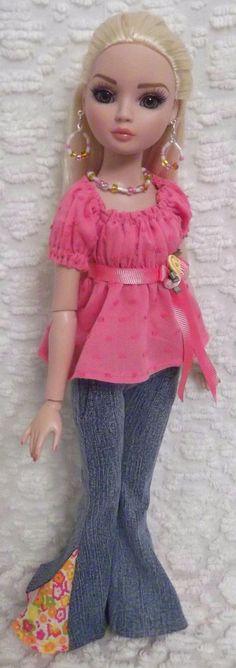 Jeans Set for Your Ellowyne Wilde That 70's Style | eBay ragtimedolls