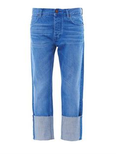 MiH Jeans Phoebe mid-rise boyfriend jeans MATCHESFASHION.COM #MATCHESFASHION