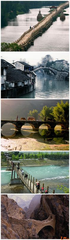 Les ponts pour tous les besoins.  / Bridge where we need them.
