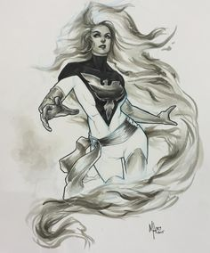 Jean Grey - Phoenix by Meghan Hetrick
