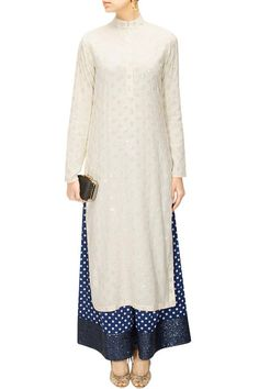 Kurta pallazo ... hmmmm well it looks great on the tall model but a squat short person would look terrible in this! I DO love the colors!