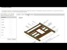Tutorial para el cálculo de #brochales de #madera a través de la herramienta de cálculo online e-struc.com