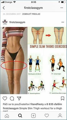 Fitness Workouts, Thigh Workouts At Home, Gym Workout Tips, Fitness Workout For Women, Body Fitness, Workout Videos, Mini Workouts, Workout Equipment, Health Fitness