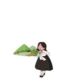 시집 '학무산 아래 들꽃 같은' 삽화
