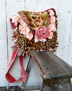 couture prairie | Prairie Couture Carpet Bag Vagabond Gypsy by ElizabethandWeston
