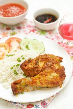 masam manis: Menu 3 Ramadhan yang sangat menyelerakan Chicken Rice, Chicken Wings, Yum Yum Chicken, Tandoori Chicken, Chicken Recipes, Menu, Lunch, Snacks, Dishes