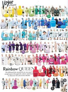 Zoya has a color palette fit for a Queen! No seriously, we probably have a color that would match each of these outfits... She has exquisite taste in color don't you think?!