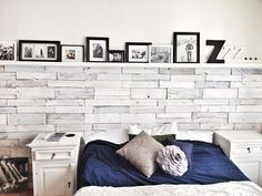 Dragons Fairy Tail: White Washed Wood Pallet Wall Want to do something simil. The Dragons Fairy Tail: White Washed Wood Pallet Wall Want to do something simil. The Dragons Fairy Tail: White Washed Wood Pallet Wall Want to do something simil. White Wash Walls, White Wash Brick, White Wood, Diy Pallet Wall, Diy Wall, Pallet Ideas, Wall Art, Wood Wall Design, White Shelves
