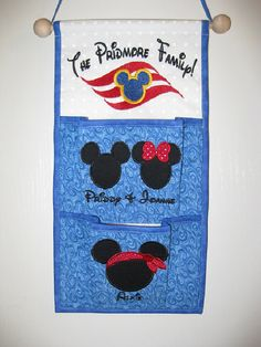 Love this idea as a Gift a Cruise Client!! Woo-Hoo!  www.facebook.com/MTTMelissa  2 Pocket Fish Extender For Your Disney Cruise  Pick by Gradysmommy, $30.00