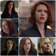 Poll: Which one is your favorite Black Widow's hair?