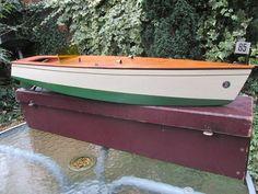 Kellner 26 inch 1930s boat electric original box flags windscreen Germany bing