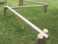 Balance Beam Fitness Station playground equipment in Health & Fitness