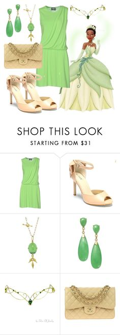 """Princess and frog"" by sos-x-girl on Polyvore featuring мода, FAUSTO PUGLISI, Cathy Waterman и Chanel"