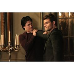 Ian Somerhalder ❤ liked on Polyvore featuring vampire diaries, the vampire diaries, ian somerhalder, people and pictures