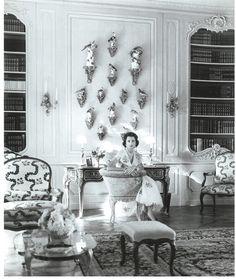 Jayne Wrightsman, Palm Beach drawing room.