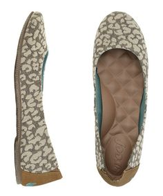Another great find on #zulily! Tan Leopard Reef Tropic Love Flat - Women by Reef #zulilyfinds