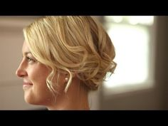 How to Create a Romantic Up-Do for Short Hair || KIN BEAUTY - YouTube