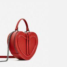 Image 1 of HEART CROSSBODY BAG from Zara