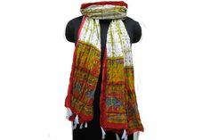 Tassel scarf/ cotton scarf/ fashion scarf/ long scarf/  multicolored scarf/ gift scarf / gift ideas.