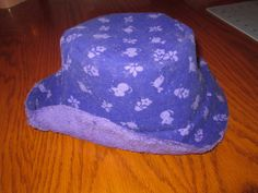 Mouse and Bird Purple Bucket Hat