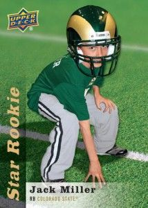 Jack Miller, 9-Year-Old Inspiration for the Colorado State Rams gets Upper Deck Trading Card! - Espacularaiesa