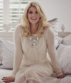 Feeling broody: Holly Willoughby has opened up about her desire to have another baby
