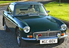1972 MG-C GT V-8 Hardtop.  v@e.