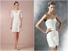 vestidos noiva civil caseme BHLDN e Pronovias