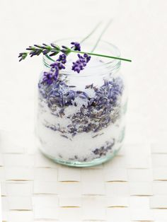 After you dry lavender, add its buds to a jar of sugar for a special, gourmet treat.