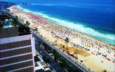 Brasil: Copacabana Beach, Rio de Janeiro