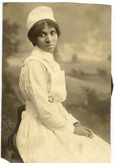 """Young Nurse"", NYC ca. late 1800s."